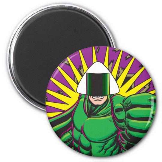Rice Ball Guy 6 Cm Round Magnet