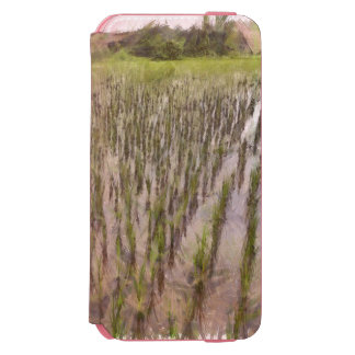 Rice fields and water incipio watson™ iPhone 6 wallet case