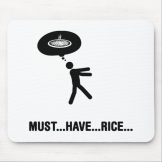 Rice Lover Mouse Mat