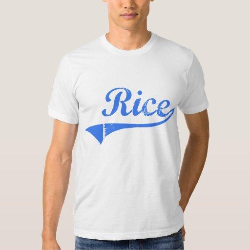 Rice Massachusetts Classic Design Tee Shirts