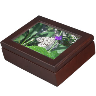 Rice Paper Butterfly Memory Box