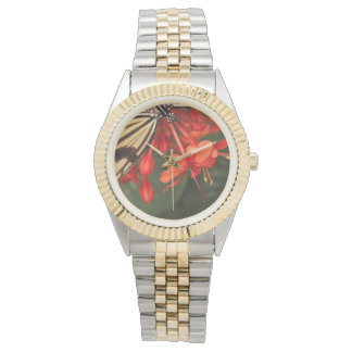 Rice Paper Butterfly Watch