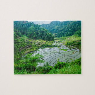 Rice terrace landscape, Philippines Puzzles