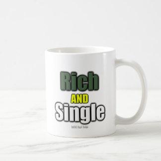 Rich AND Single Basic White Mug