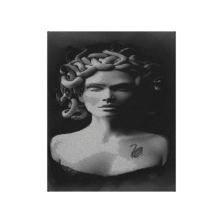 RICH AND TIMELESS CLASSY MEDUSA ART PRINT CANVAS