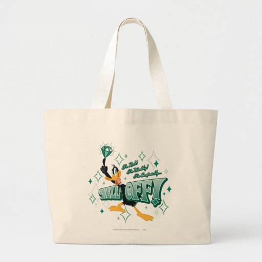 Rich and Wealthy Daffy Duck Canvas Bag