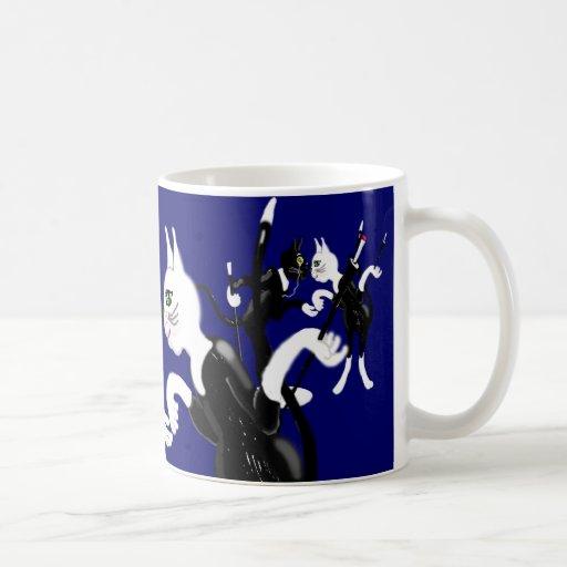 Rich Cats Frug Mugs