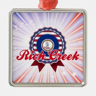 Rich Creek, VA Christmas Ornament