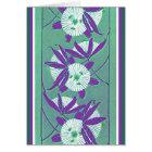 Rich Deco Floral Card
