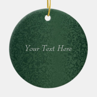 Rich Emerald Green Christmas Ornament