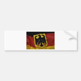 Rich Germany Flag Bumper Sticker