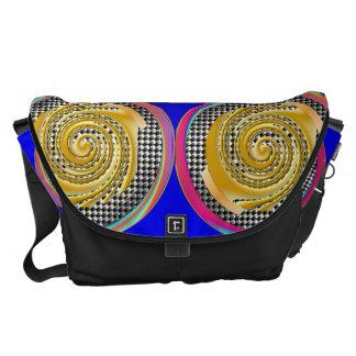 Rich Gold Messenger Bags