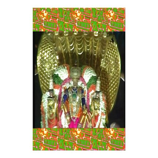 RICH HERITAGE Tirupati Temple: Lord Vishnu Customized Stationery