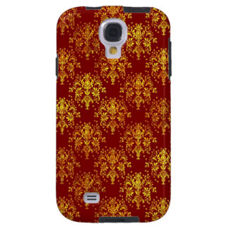 Rich Holiday Damask Galaxy S4 Case