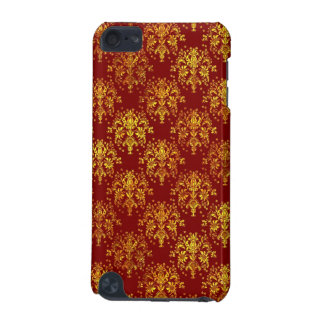 Rich Holiday Damask iPod Touch (5th Generation) Covers
