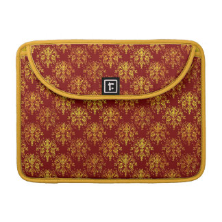 Rich Holiday Damask Sleeve For MacBooks