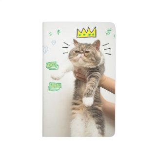 Rich King Cat Journal