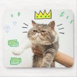 Rich King Cat Mouse Pads