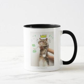 Rich King Cat Mug