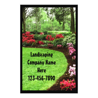 Rich Landscape Lawn Care Business 14 Cm X 21.5 Cm Flyer
