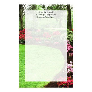 Rich Landscape Lawn Care Business Personalised Stationery