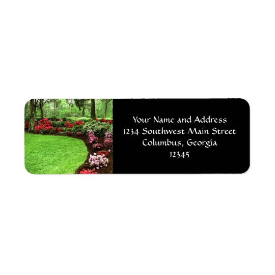 Rich Landscape Lawn Care Business Return Address Label