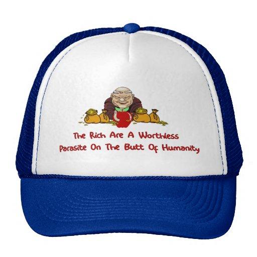 Rich Parasites Mesh Hats