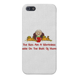 Rich Parasites iPhone 5/5S Covers