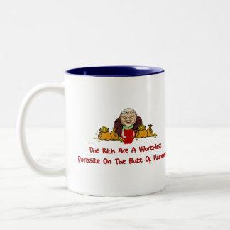 Rich Parasites Coffee Mugs