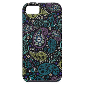 Rich Peacock Colors Paisley Pattern Case For The iPhone 5