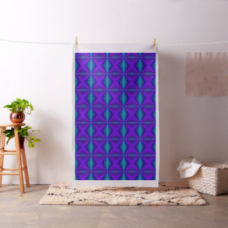 Rich Purple and Green Gradient fabric