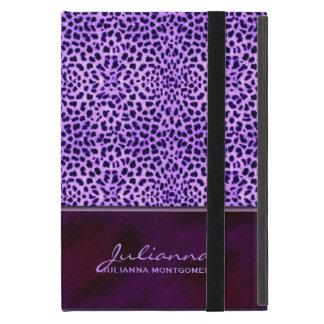 Rich Purple Cheetah Animal Print Cover For iPad Mini