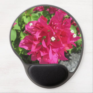 Rich Red Bougainvillea Gel Mouse Mat