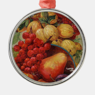 Rich Red Fruit Ornaments