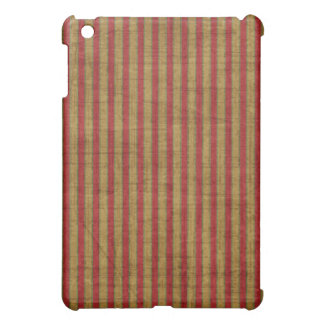 Rich Red Gold Hard Shell iPad Case
