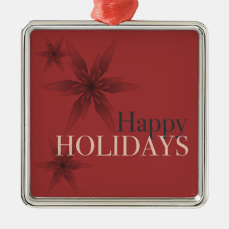 Rich Red Holiday Ornament