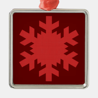 """""""Rich Red Snowflake""""  [a] Christmas Ornaments"""