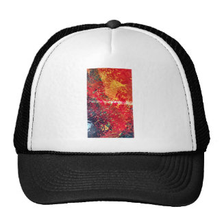Rich reds abstract cap