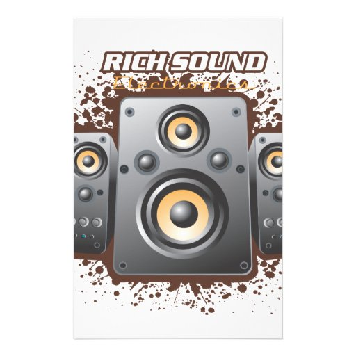 Rich Sound Products Stationery Design