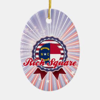 Rich Square, NC Christmas Tree Ornaments