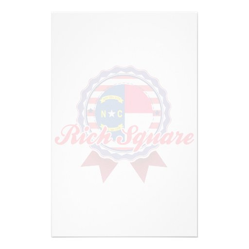 Rich Square, NC Customized Stationery