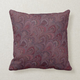 Rich Wine Tones Pattern Cushion
