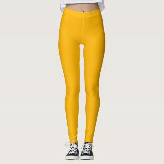 Rich Yellow Leggings