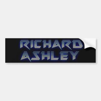 Richard Ashley Bumper Sticker