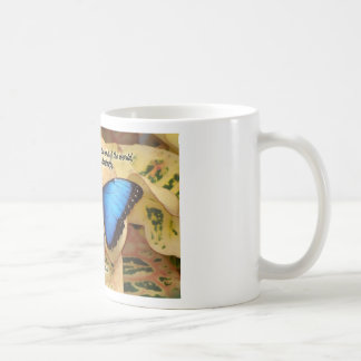 Richard Bach-The Caterpillar Basic White Mug