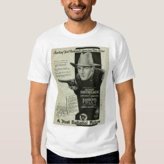 Richard Barthelmess 1926 vintage movie ad T-shirt