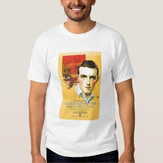 Richard Barthelmess Silent Movie Poster FURY Tee Shirt