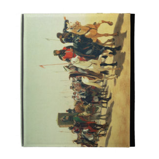 Richard Coeur de Lion on his way to Jerusalem iPad Folio Cover