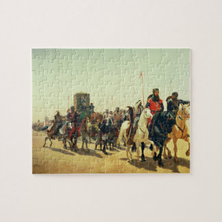 Richard Coeur de Lion on his way to Jerusalem Jigsaw Puzzle