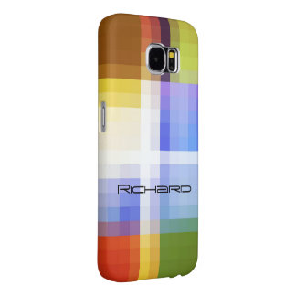 Richard Colored Squares Samsung Galaxy cover